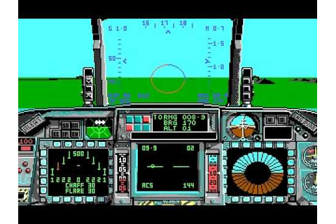 F-16 Combat Pilot by Digital Integration (1989) - YouTube