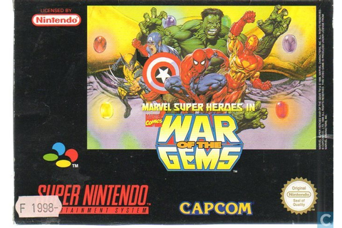 Marvel Super Heroes in: War of the Gems - Nintendo SNES ...
