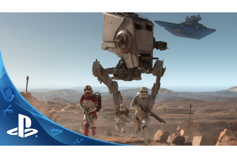 Star Wars Battlefront - E3 2015 Trailer | PS4 - YouTube