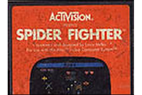 Classic Game Room HD - SPIDER FIGHTER for Atari 2600 ...