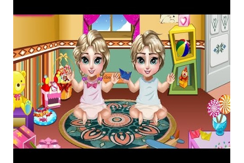 Disney Princess Frozen Elsa Twins Care - Baby Games For ...