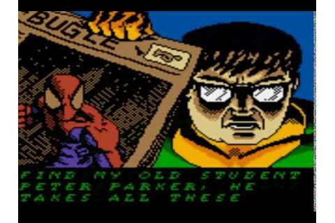 Spider-Man 2 - The Sinister Six Intro Game Boy Color - YouTube