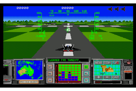 ATF II - Advanced Tactical Fighter II ROM