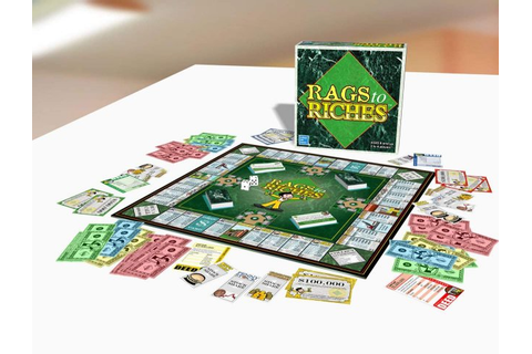 Fair Play Games - Rags to Riches - Discounted Board Games ...