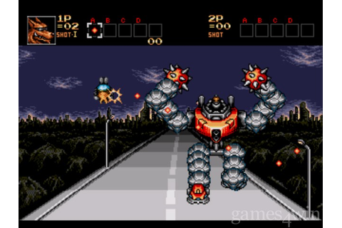 Contra - Hard Corps Download on Games4Win