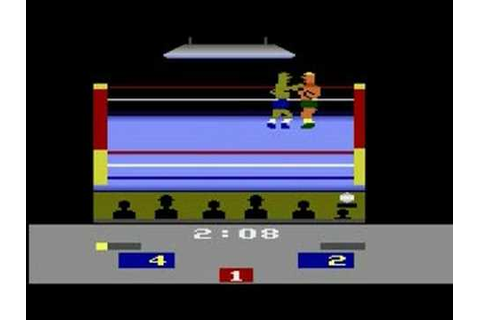 Atari 2600 - RealSports Boxing - gameplay - YouTube