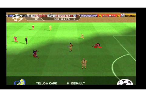 Bayern-Chelsea (PS1 game) Champions League 1999/2000 - YouTube