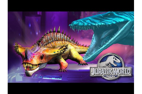 Max Attacks - Jurassic World The Game - YouTube