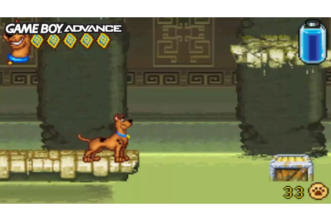 Scooby-Doo! Unmasked (Gameboy Advance Gameplay) - YouTube
