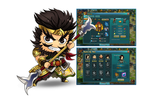 Chibi Warriors by 37Games - Play a Cute Strategy Web Game ...