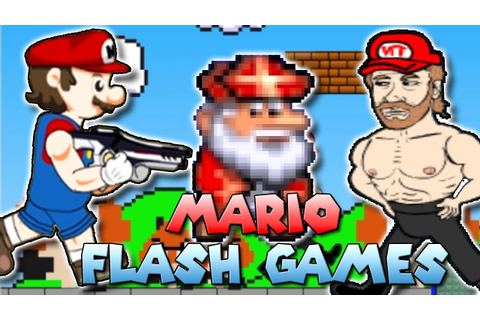 The WEIRDEST Mario Flash Games - YouTube