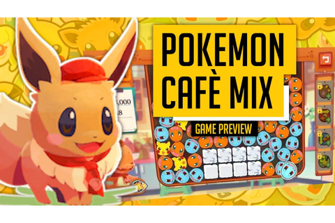 POKEMON CAFE MIX a free-to-play puzzle game - ANDROID ...