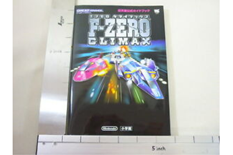 F-ZERO Climax Official Game Guide Book Japanese Game Boy ...