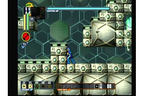Megaman Network Transmission (Game Cube) Game Play - YouTube