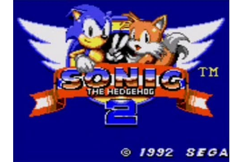 Let's Play Sonic the Hedgehog 2! (Game Gear 1) - YouTube