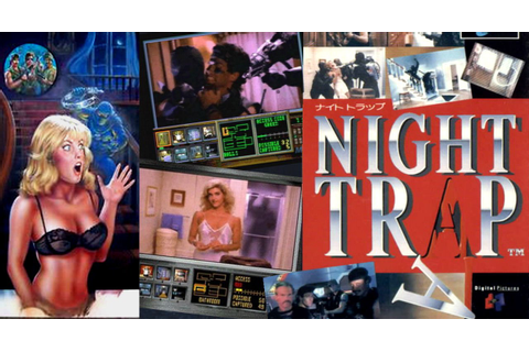 90's Controversial Live-Action Video Game Night Trap Now ...