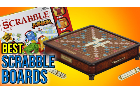 7 Best Scrabble Boards 2016 - YouTube