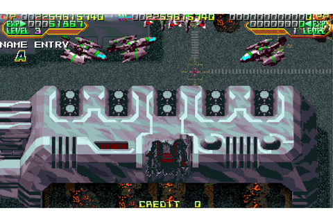 Mars Matrix: Hyper Solid Shooting - Arcade/Coin-Op - Score ...