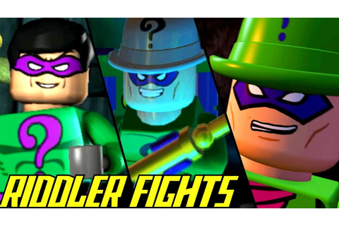 Evolution of Riddler Battles in LEGO Batman Games (2008 ...