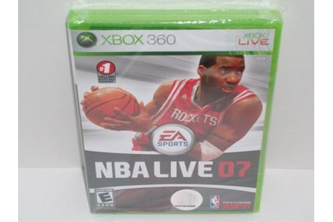 NBA Live 07 (SEALED) - Xbox 360 Game, Just Go Vintage