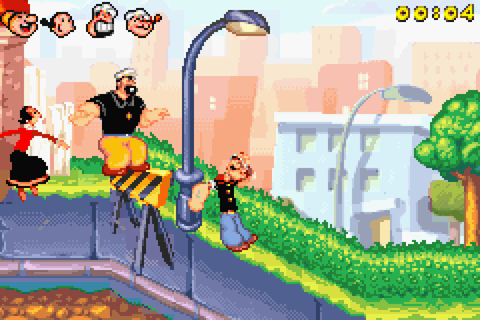 Popeye: Rush for Spinach Screenshots | GameFabrique