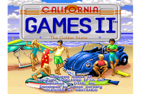 California Games 2 Screenshots | GameFabrique