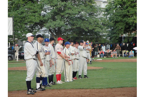 Old Time Baseball Game | Flickr - Photo Sharing!