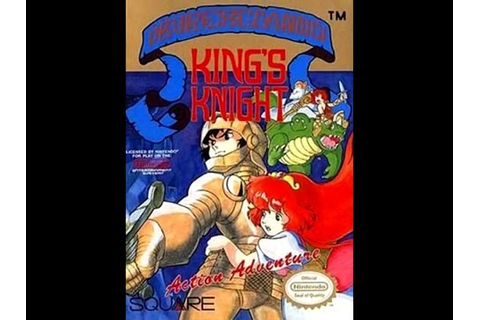Review - King's Knight (NES) - YouTube