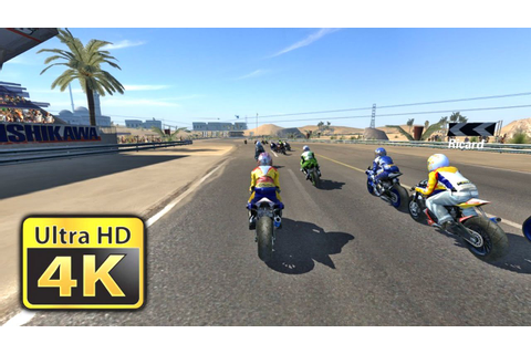 MotoGP '07 : Old Games in 4K Gameplay - YouTube