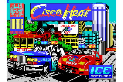 Cisco Heat (1991) by Image Works ZX Spectrum 128 game