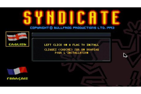 Syndicate - American Revolt gameplay (PC Game, 1993) - YouTube