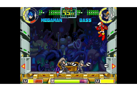 Mega Man: The Power Battle 2 player Netplay game-Megaman 1 ...