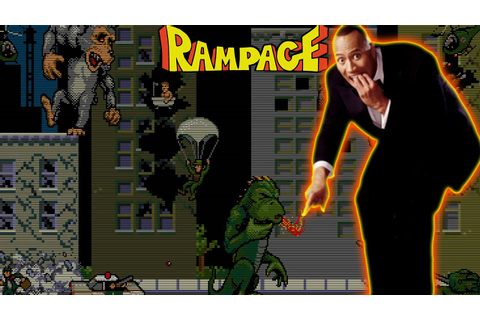 Dwayne Johnson To Star In Adaptation Of RAMPAGE Video Game ...