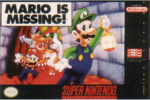 Mario is Missing ! sur Super Nintendo - jeuxvideo.com