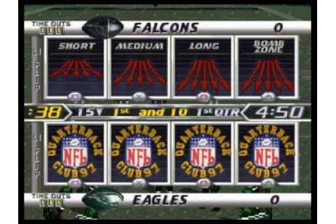 NFL Quarterback Club '97 (PlayStation One) - YouTube