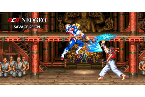 ACA NEOGEO SAVAGE REIGN | Nintendo Switch download ...