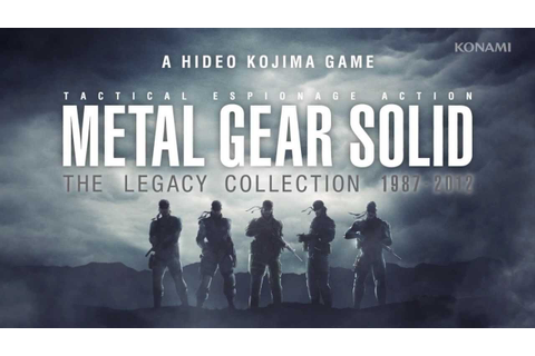 『METAL GEAR SOLID THE LEGACY COLLECTION』Trailer - YouTube