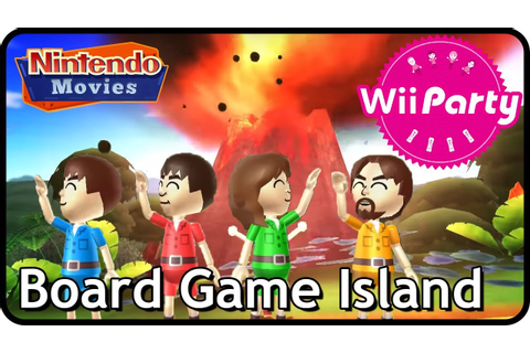 Wii Party: Board Game Island (4 players) - YouTube