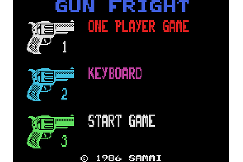 Gunfright (1985) by Ultimate Play The Game MSX game