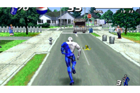 Pepsiman ( Game ) - YouTube