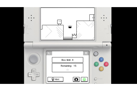 English Bye-Bye BoxBoy! footage - Nintendo Everything