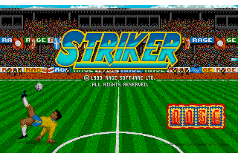 Striker Screenshots for DOS - MobyGames