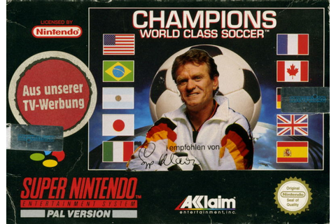 Champions World Class Soccer for SNES (1994) - MobyGames