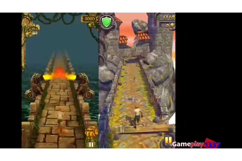 TEMPLE RUN vs TEMPLE RUN 2 - Best Endless Running Games ...