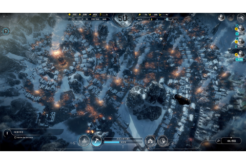 Frostpunk PlayStation 4 Indie Game Review | Geeky Hobbies