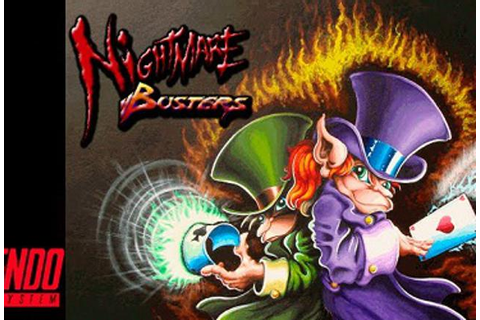 New Super Nintendo Game 'Nightmare Busters' Isn't Exactly ...