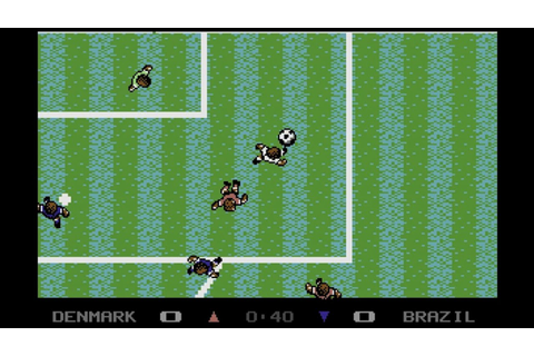 Microprose Soccer - C64 - YouTube