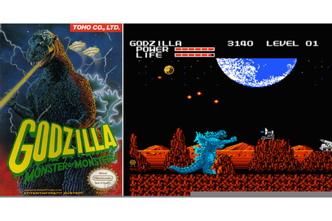 Play Godzilla: Monster of Monsters! on NES