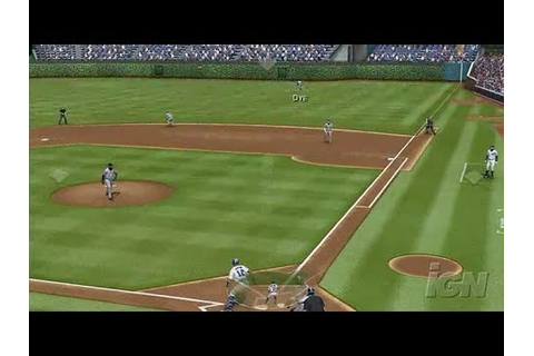 Major League Baseball 2K7 PlayStation 2 Gameplay - - YouTube