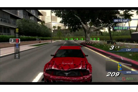 Ford Street Racing - Gameplay PS2 (PS2 Games on PS3) - YouTube
